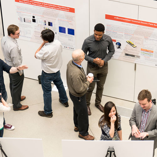 Draper Fellow Poster Sessions 2018