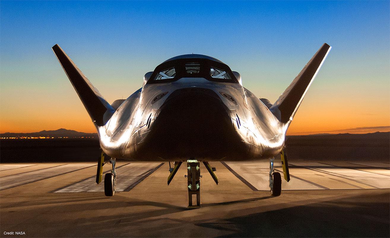Dream Chaser, credit NASA