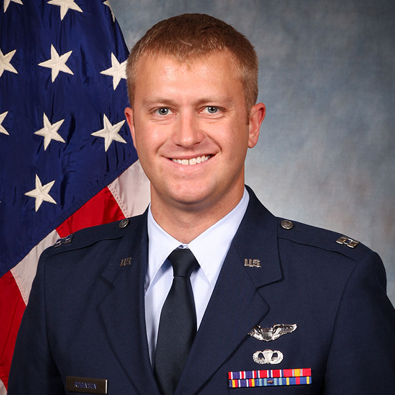 Eric Robinson, a Mobility Pilot in the U.S. Air Force and alumnus of the Draper Fellow Program, found a way to optimize the tasking of data collection across separately managed satellites—and earned the Von Karman Award for his achievement.