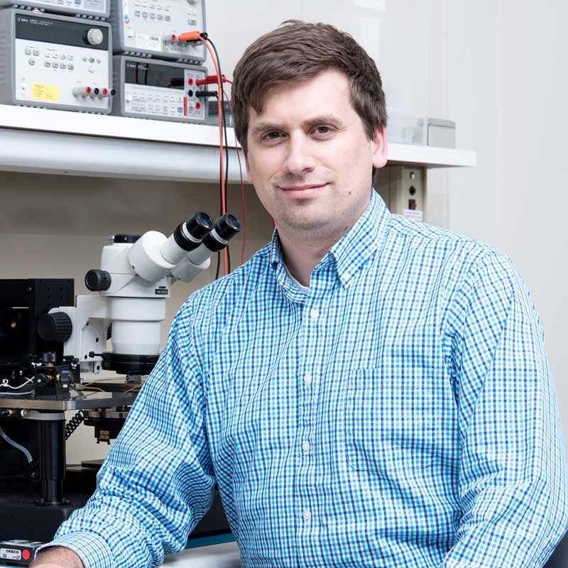 A material scientist at Draper, Gregory M. Fritz has advanced the field of 3D printing with innovations such as nanometer inks and printable electronics, earning him an invitation to join the Frontiers of Engineering Symposium held annually by the Nationa
