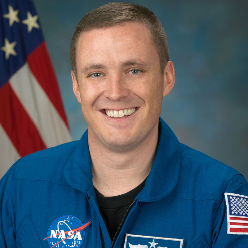 Jack Fischer is the fifth Draper Fellow to serve as a NASA Astronaut. Since the 1970s, Draper has guided and supported more than 1,200 Draper Fellows. Photo credit: NASA.