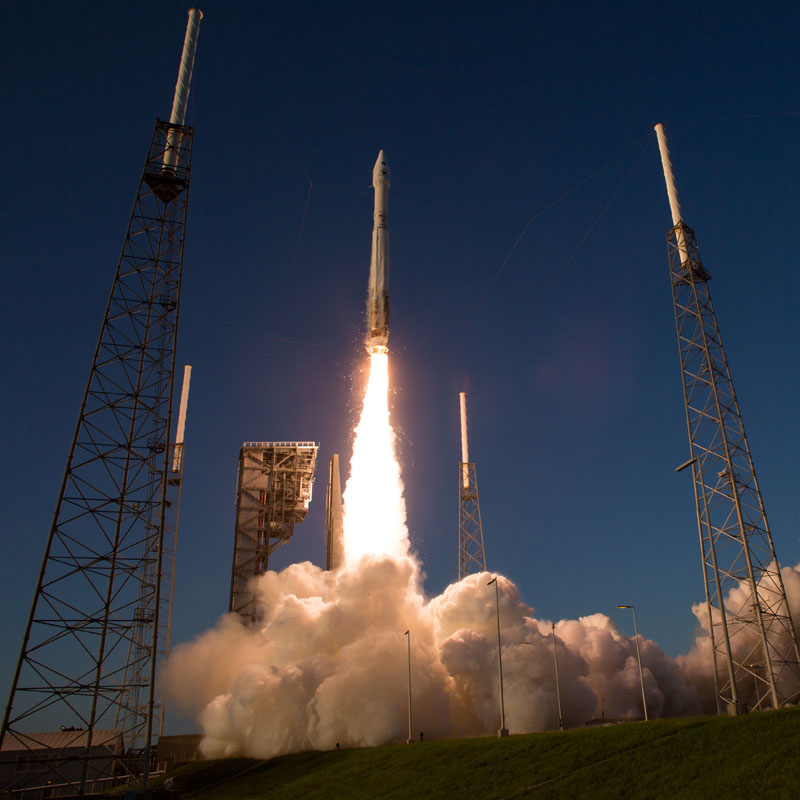 OSIRIS-REx Asteroid Mission Launch (Credit: NASA/Joel Kowsky)