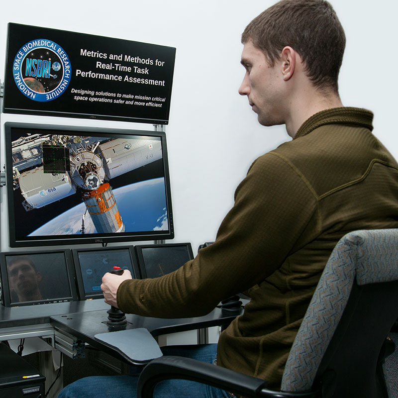 Draper's simulator can help NASA better understand the effects of long-duration space flight on astronaut performance.