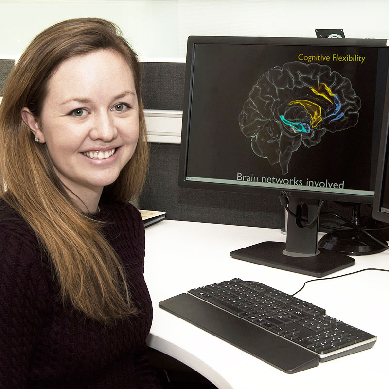 Nicole Provenza studies brain patterns of intractable neuropsychiatric disorders, like depression and PTSD. She is a Draper Fellow and graduate student at Brown University.