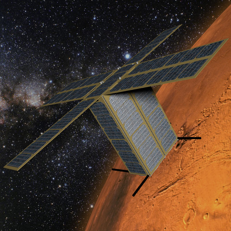 Draper engineers have discovered a way to maneuver nanosatellites that are too small to house a standard control system by tapping into the natural accelerators in space, such as solar winds, the Earth's magnetic field and the spacecraft's aerodynamic dra
