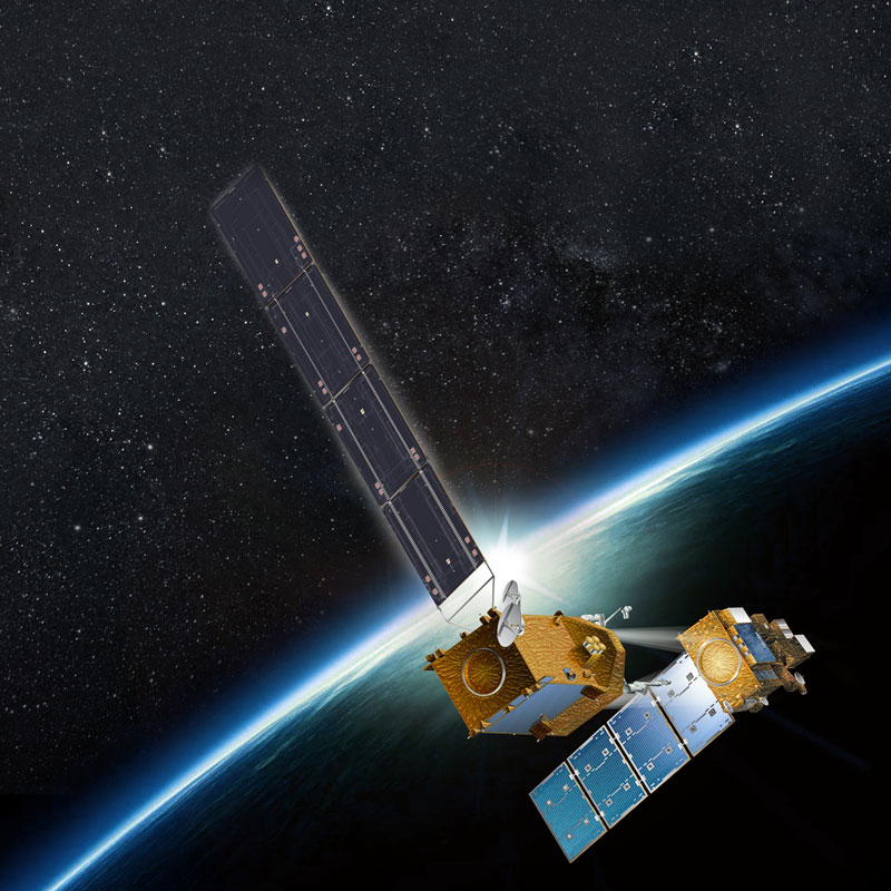Draper joins a team led by Space Systems Loral to service government-owned satellites under NASA's Restore-L program. Image courtesy of Space Systems Loral.