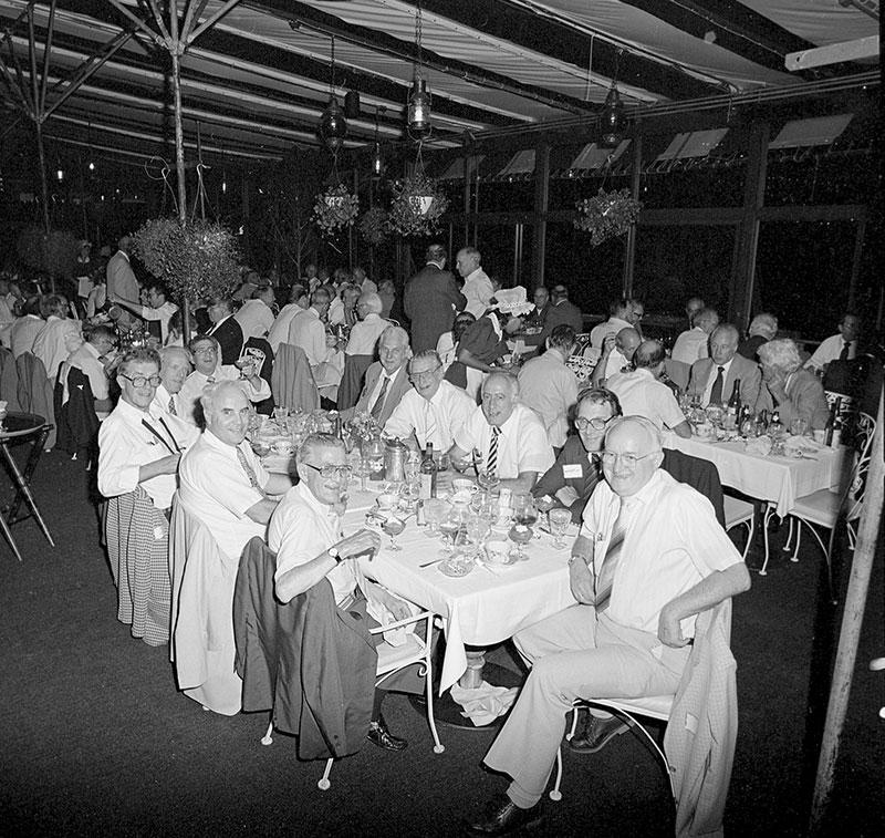 Jake Hall Saraland Al: 1984 QCC Dinner At Anthony's Pier 4