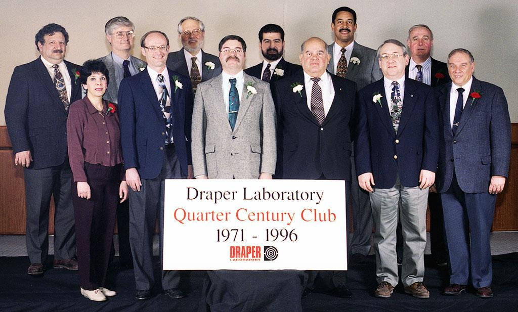 Quarter Century Club Group Photos | Draper