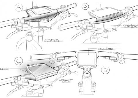 Bike concept sketches