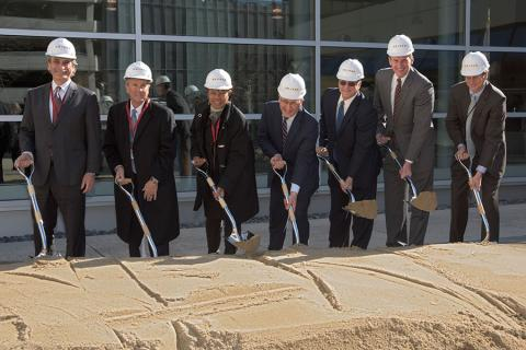 Groundbreaking at Draper