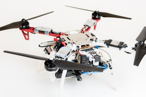 A team from Draper and MIT equipped a UAV with vision for GPS-denied navigation.