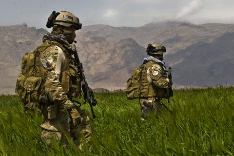 Pictured here are special operations forces on patrol in Afghanistan. (Credit: U.S. Army)